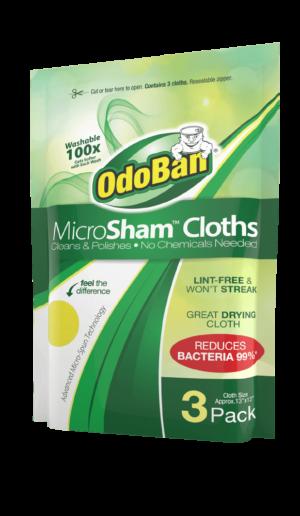 OdoBan Microsham Microfiber Cloth Towels