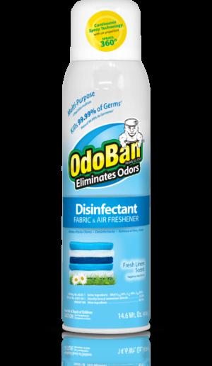 OdoBan Fresh Linen Continuous Spray