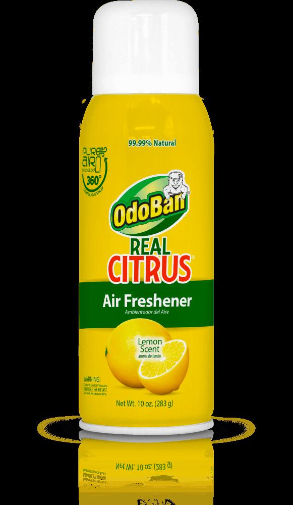 OdoBan Lemon Real Citrus Air Freshener