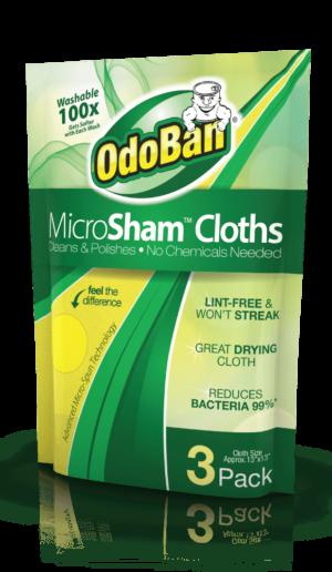 OdoBan Microsham Cloths