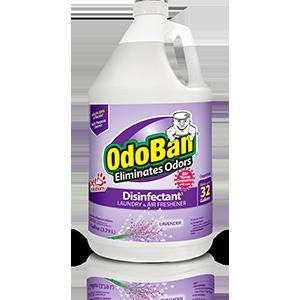 OdoBan Fresh Linen Concentrate Cleaner Disinfectant Odor Eliminator Full